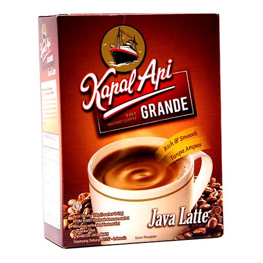 Kapal Api Grande Java Latte لاتيه