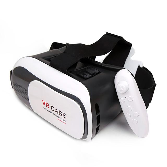 b2ce671e6 نظارة الواقع الافتراضي VR BOX مع جويستك