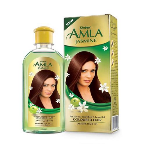 Jasmin Hair Oil زيت شعر دابر املا بالياسمين