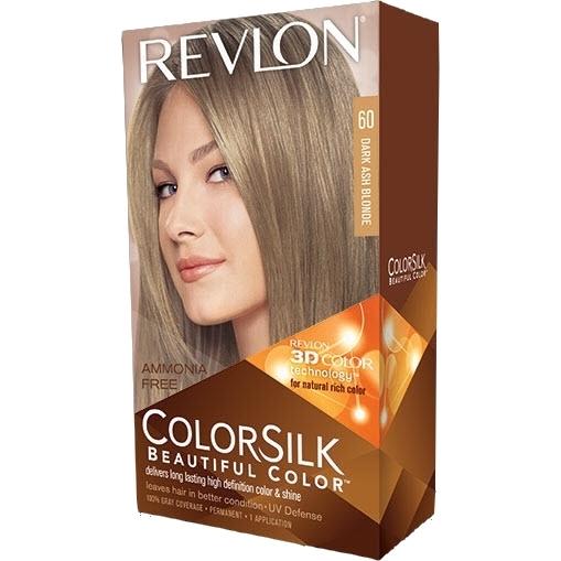 Revlon Colorsilk 60 أشقر رمادي غامق