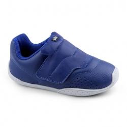 e594d9aef BiBi kids Leather Shoes with velcro, Dark blue حذاء ولادي