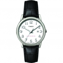 6e676a961 Timex TW2R64900 Easy Reader Signature 38mm Leather Strap Watch ساعة رجالية